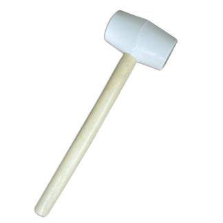MAZO BLANCO de goma para instalacion de pisos