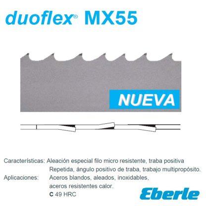 cinta sinfin duoflex mx55 eberle plinares